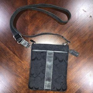Authentic Coach black crossbody bag purse